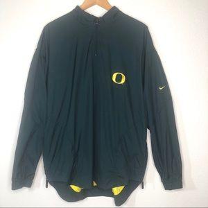 Nike Team Oregon Men's Pullover Jacket Made USA